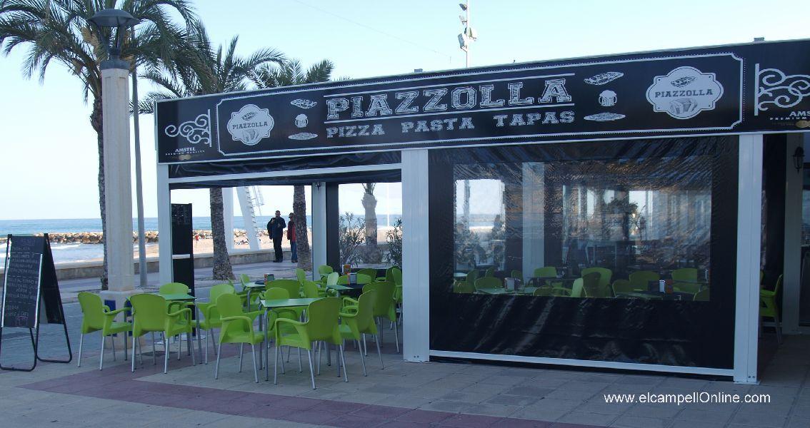 PIAZZOLLA,  Restaurante-Pizzas