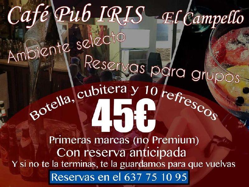 IRIS, Café Pub